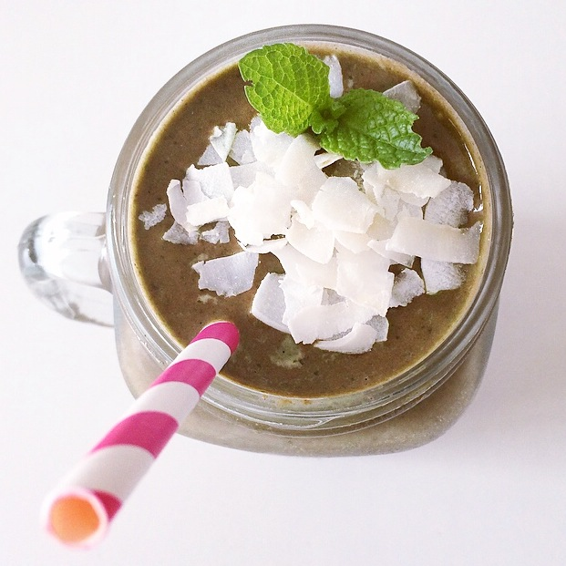 choc mint smoothie