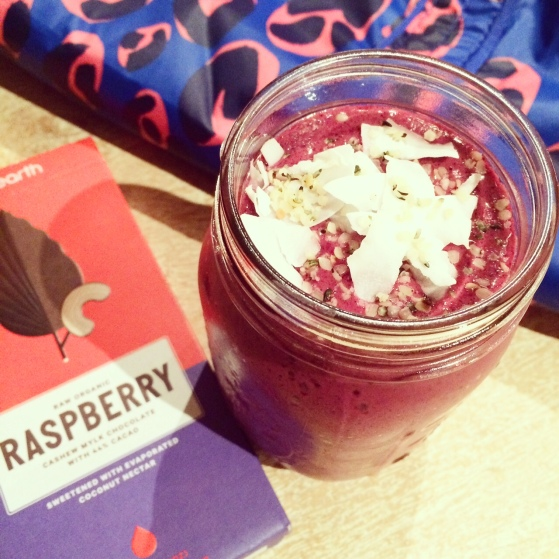 raspberry choc